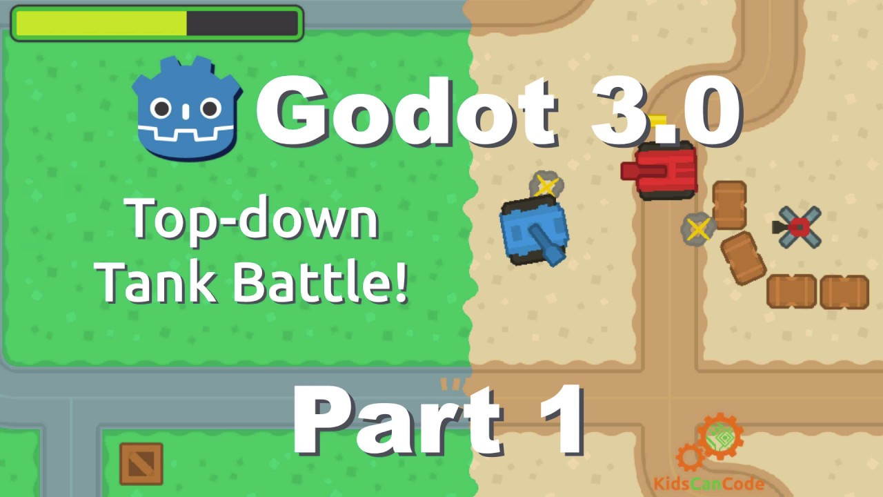 Godot 3.0: Top-down Tank Battle - Part 1