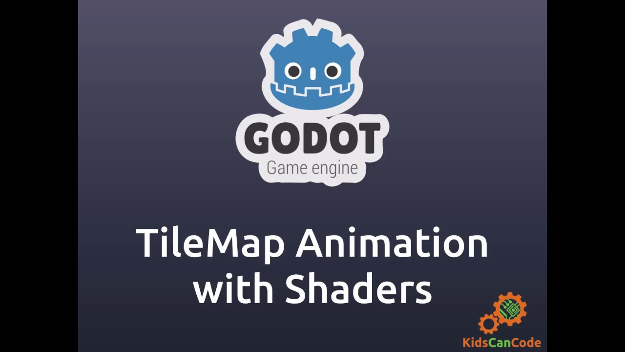 Godot Engine: TileMap Animation with Shaders