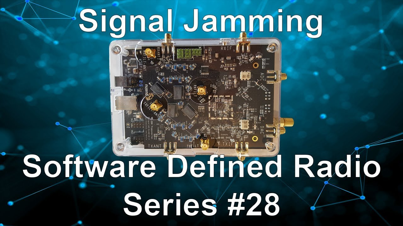 Signal Jamming - Software Defined Radio Series #28