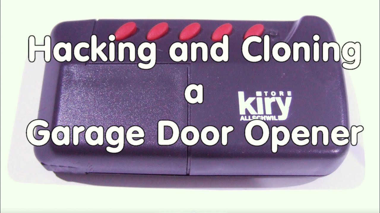 #44 Hacking and Cloning a Garage Door Opener using SDR Radio